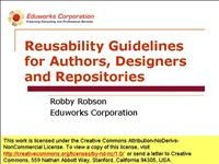 robson reusability guidelines