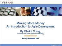 xpday 2005 making more money final