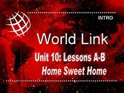 WorldLink Unit 10 level 2