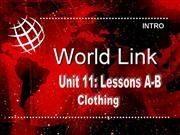 WorldLink Unit 11 level 2