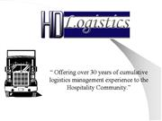 HD Logistics Customer Presentation WEB