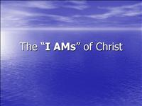 The I AMs of Christ