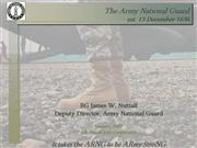 Army National Guard Vision Update