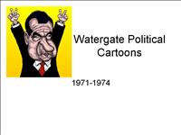 Watergate Political Cartoons