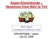 hep2005 talk MarkVagins