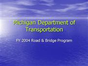 MDOT FY2004 Road Bridge Program 9 25 03 76004 7