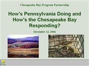 PA Conservation Districts All Bay Day Mtg 12 06
