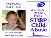 Aadon Blu's Peace Fund - Child Abuse Prevention