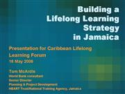 03 Building a Lifelong Learning Strategy in Jamaic