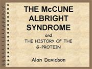 mccune albright syndrome