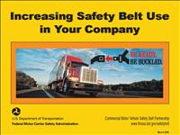 increasing safetybelt usage presentation