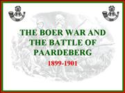 the boer war and battle of paardeberg