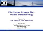 Film Cluster Strategic Plan
