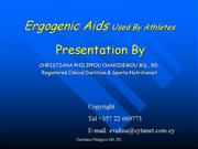 ERGOGENIC AIDS USED BY ATHLETES new1
