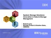 MT System Storage Solutions