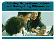 defining generational values