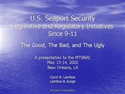 U S Seaport Security