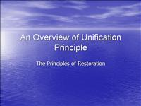 principles of restoration