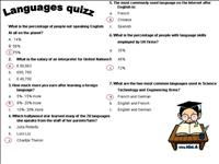 Language quiz