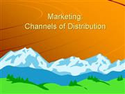 Marketing Channels Pt1 12sept06 n40