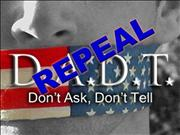 Repeal Dont ask dont tell