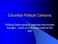 Columbia Political Cartoons