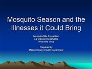 West Nile Virus Info for the public