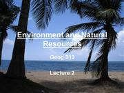 geog323 lecture1b environment