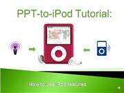 iPod Tutorial 1