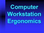 ComputerWorkstationE rgo