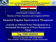 EfficientWaterUse Egypt
