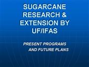 Sugarcane Research 10112006