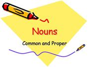 Common or Proper Noun