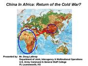 China in Africa Brief