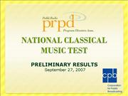 PRPD Classical Music