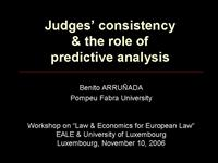 ARRUNADA Judges Consistency Requires Analysis