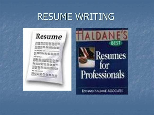 Resume Writing |authorSTREAM