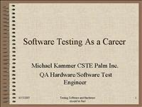 Life as a tester small