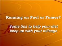 Running on Fumes