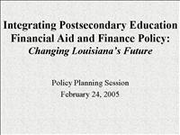 Policy Planning Session 2 24 051