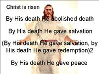 Christ+is+risen+