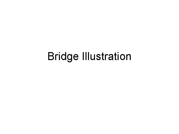 Bridge Illustration