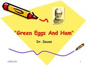 Green Eggs And Ham correct