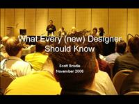 Scott Brodie What Every Designer Should Know