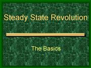 Steady State Revolution Only