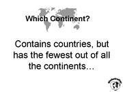 which continent globetrotter statements