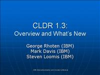 cldr overview 1