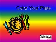 Color Your Plate Power Point