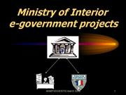 03e government projects in France