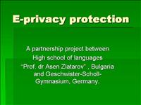 E privacy protection project